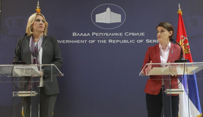 RS – Serbia governments' joint session held in Belgrade