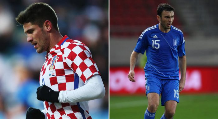 Greece vs Croatia tonight at Zagreb's Maksimir Stadium