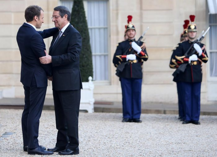 Macron: France willing to further support efforts for a Cyprus solution