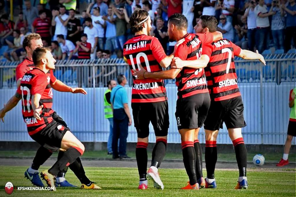 Shkendija leads the table on Match Day 14 in FYROM