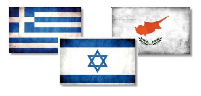 Second Tripartite Meeting of Cyprus, Greece & Israel's heads of parliament in Nicosia