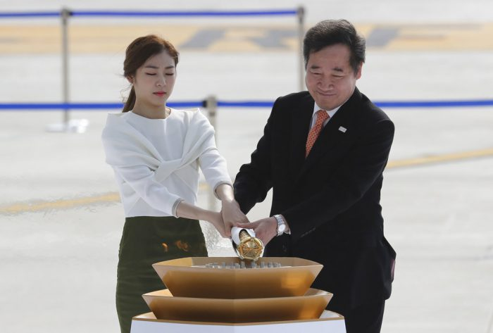 The Olympic Flame arrives in S. Korea after handover ceremony in Athens