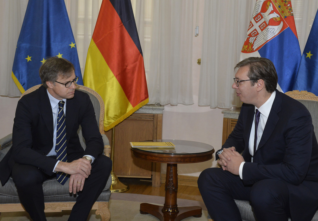 Vucic: German investment in Serbia expected to rise in 2018