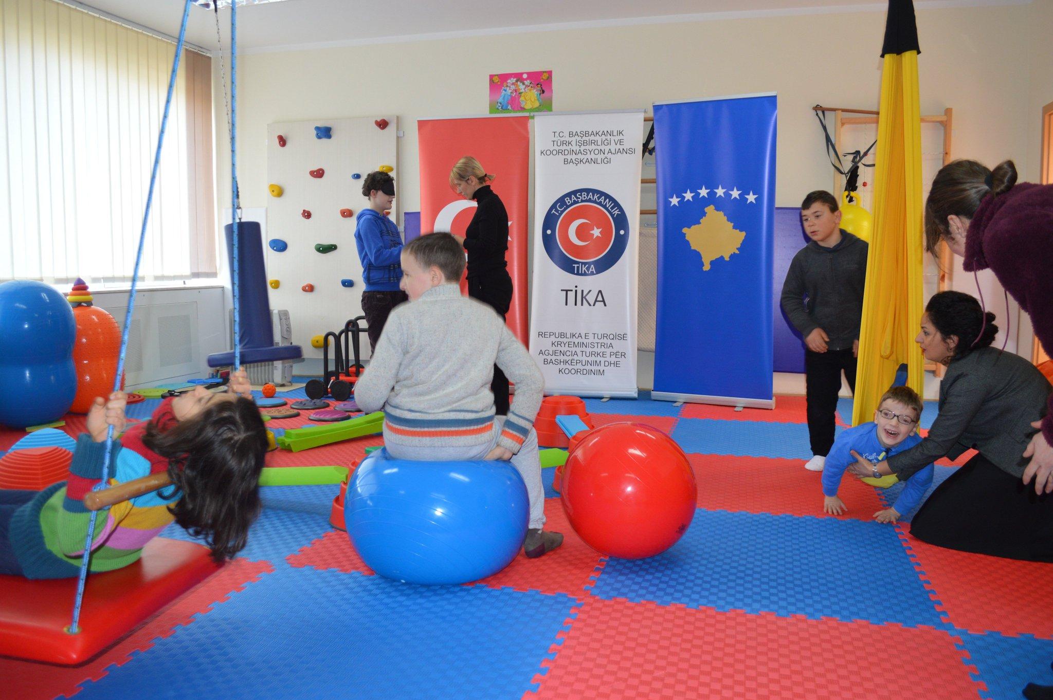 Pristina kindergartens restored by Turkish aid agency