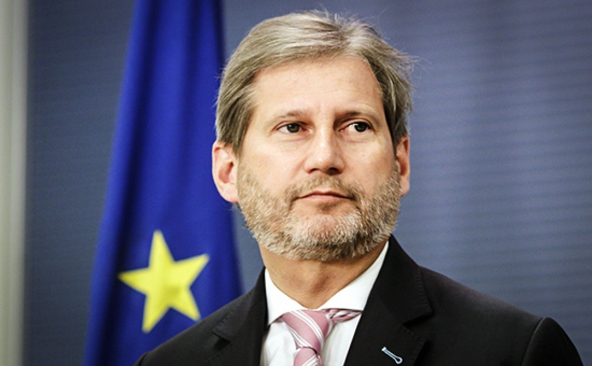 EU Enlargement Commissioner Hahn believes in 2025 accession goal