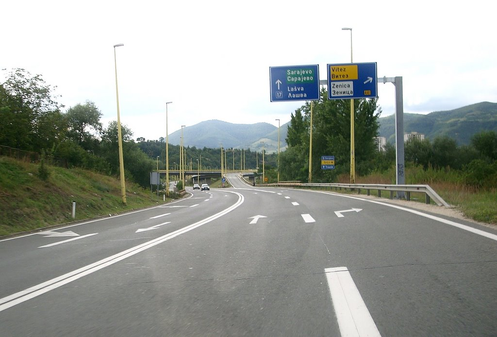 EBRD loan to Bosnia for the Corridor Vc motorway expansion