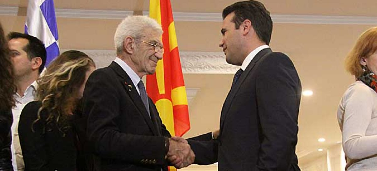 Boutaris invites Zaev to spend New Year's Eve in Thessaloniki