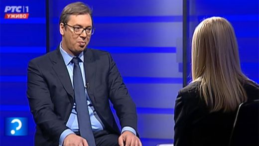 I don't want to oppose the emotions of the people, Vucic says