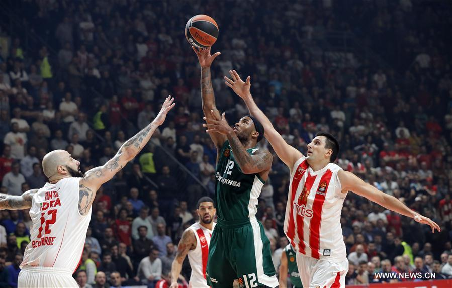 Euroleague: Panathinaikos beats Red Star in Belgrade