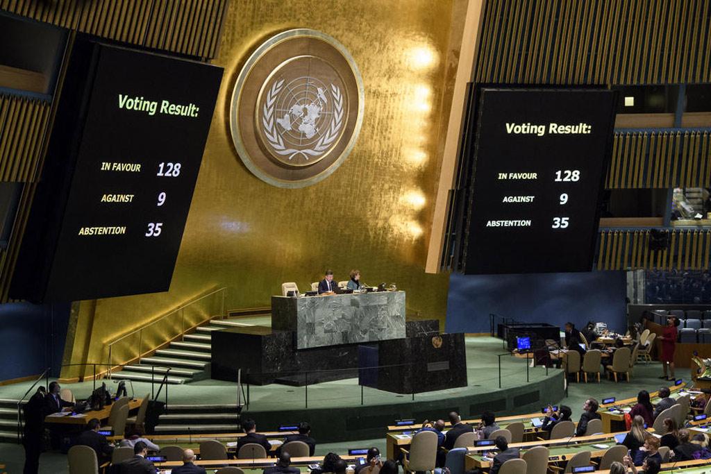 Turkey embraces UN resolution on Jerusalem's status