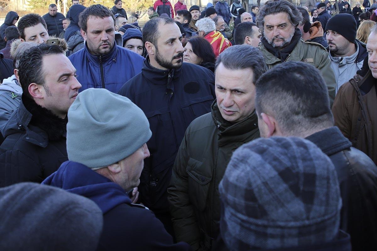 VMRO-DPMNE to block border crossing points