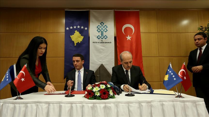 Ankara, Pristina sign cultural agreement