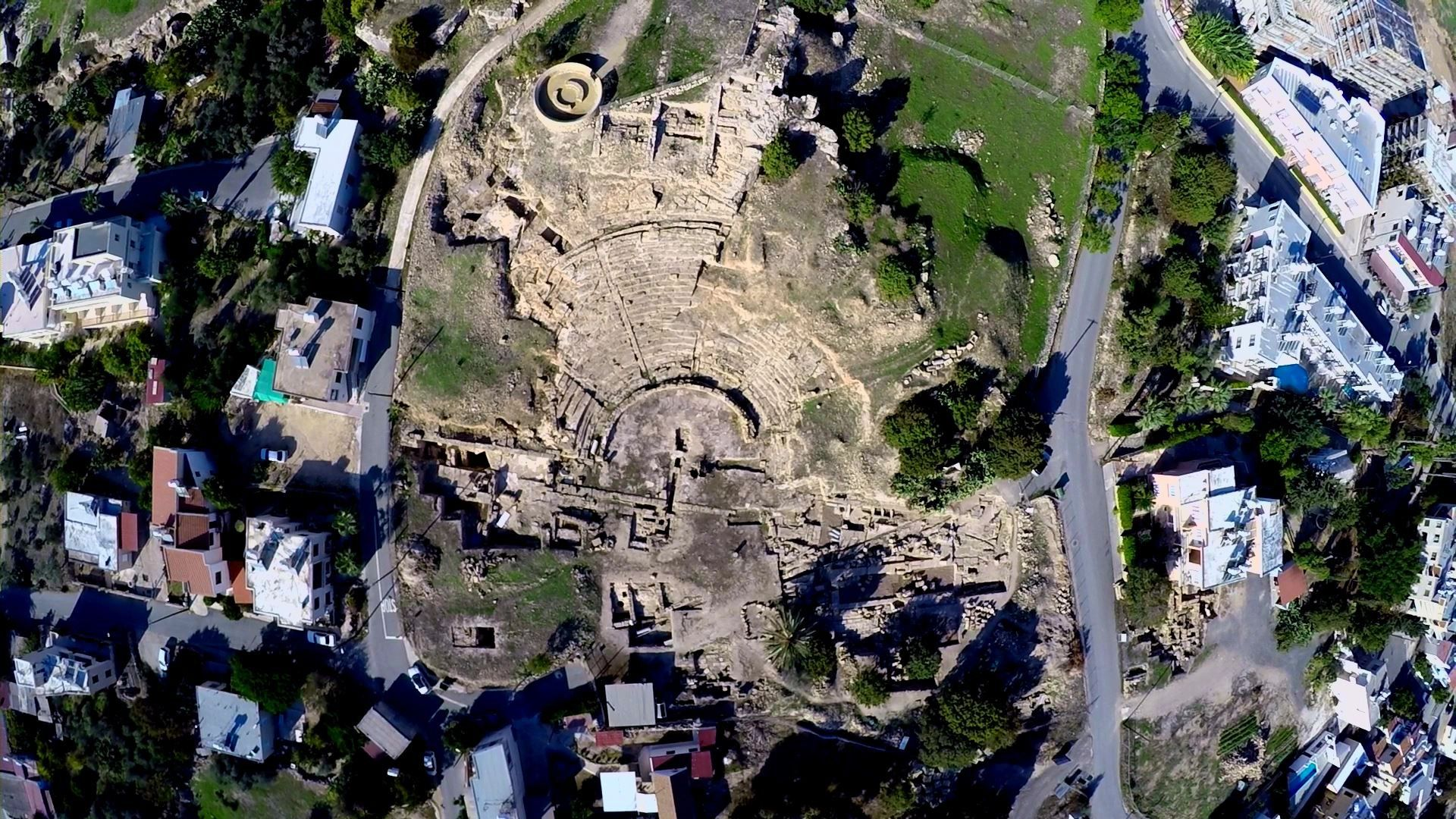 Archaeological excavations conducted in Nea Paphos by the Australian archaeological mission