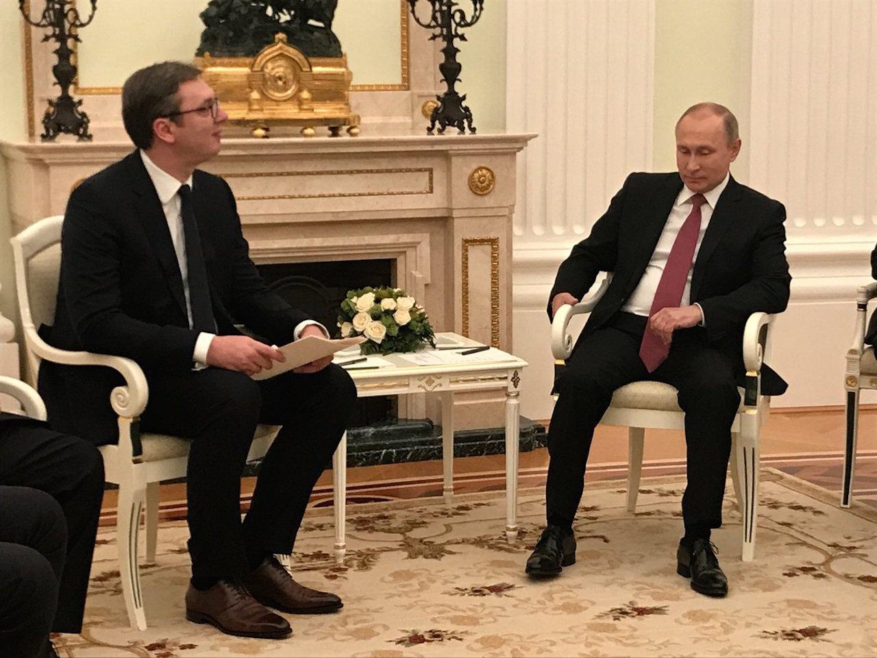 Russia ready to join Belgrade-Pristina talks, Vucic says