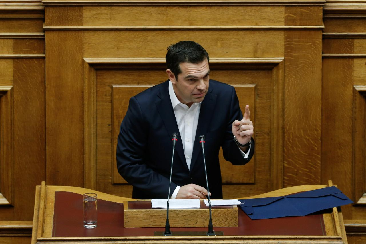 Tsipras rules out early election; says economy is on upward trajectory