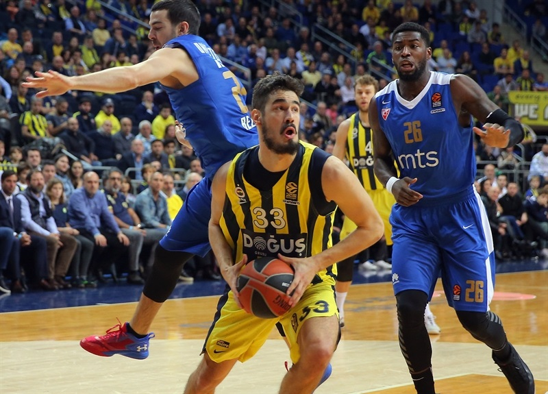 Victory for Fenerbahce Dogus against Crvena Zvezda