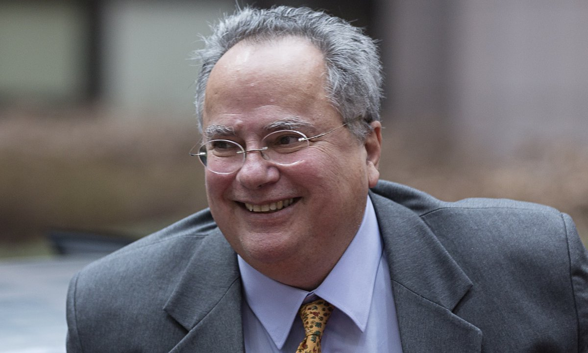 Nikos Kotzias in Rome on December 20 – Refugee and Energy issues high on the agenda
