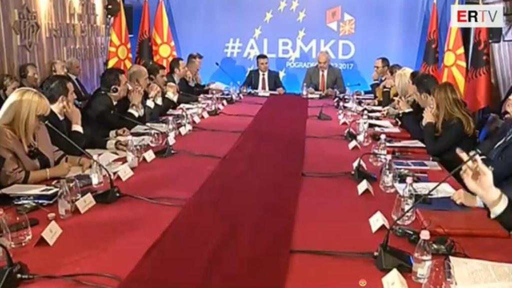 FYROM and Albania hold a joint government meeting