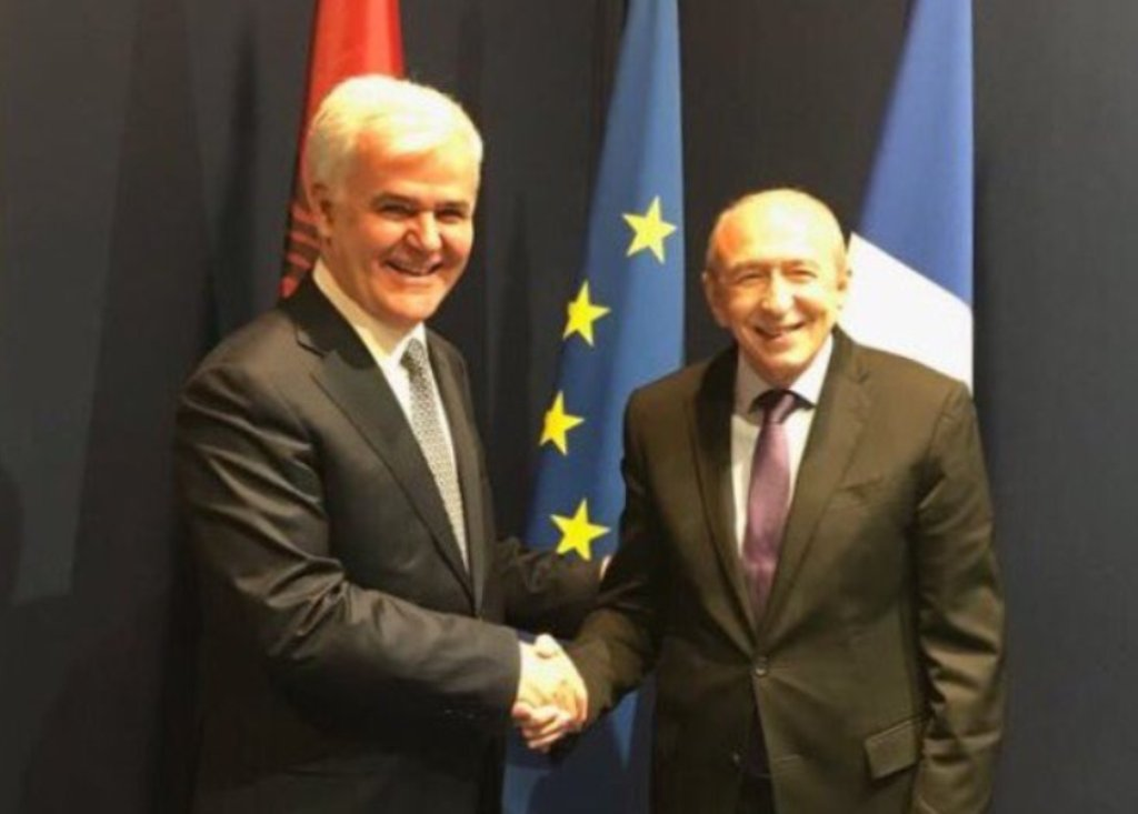 French Interior minister holds an official visit to Tirana