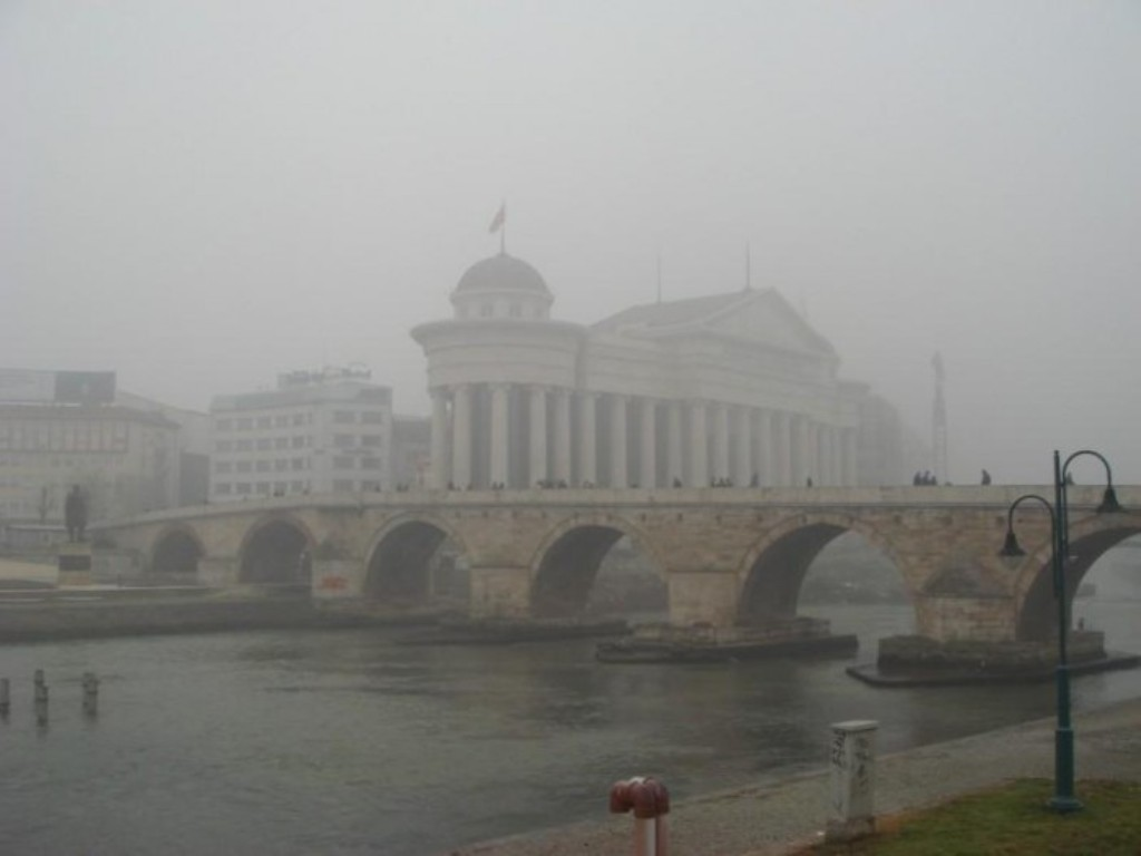 High levels of pollution in Skopje and other cities