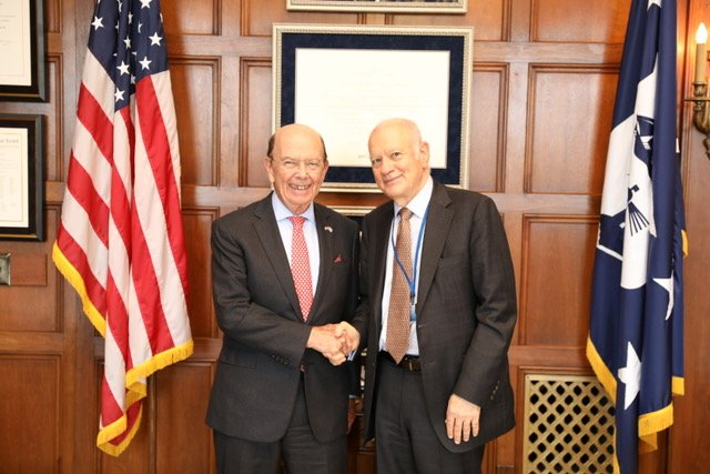 The Papadimitriou-Ross meeting and the Greece-U.S. joint committee