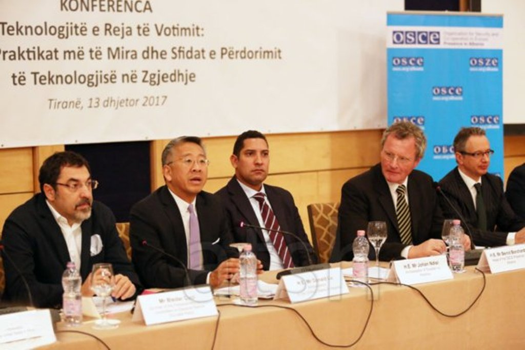 USA-OSCE encourage electronic voting in Albania