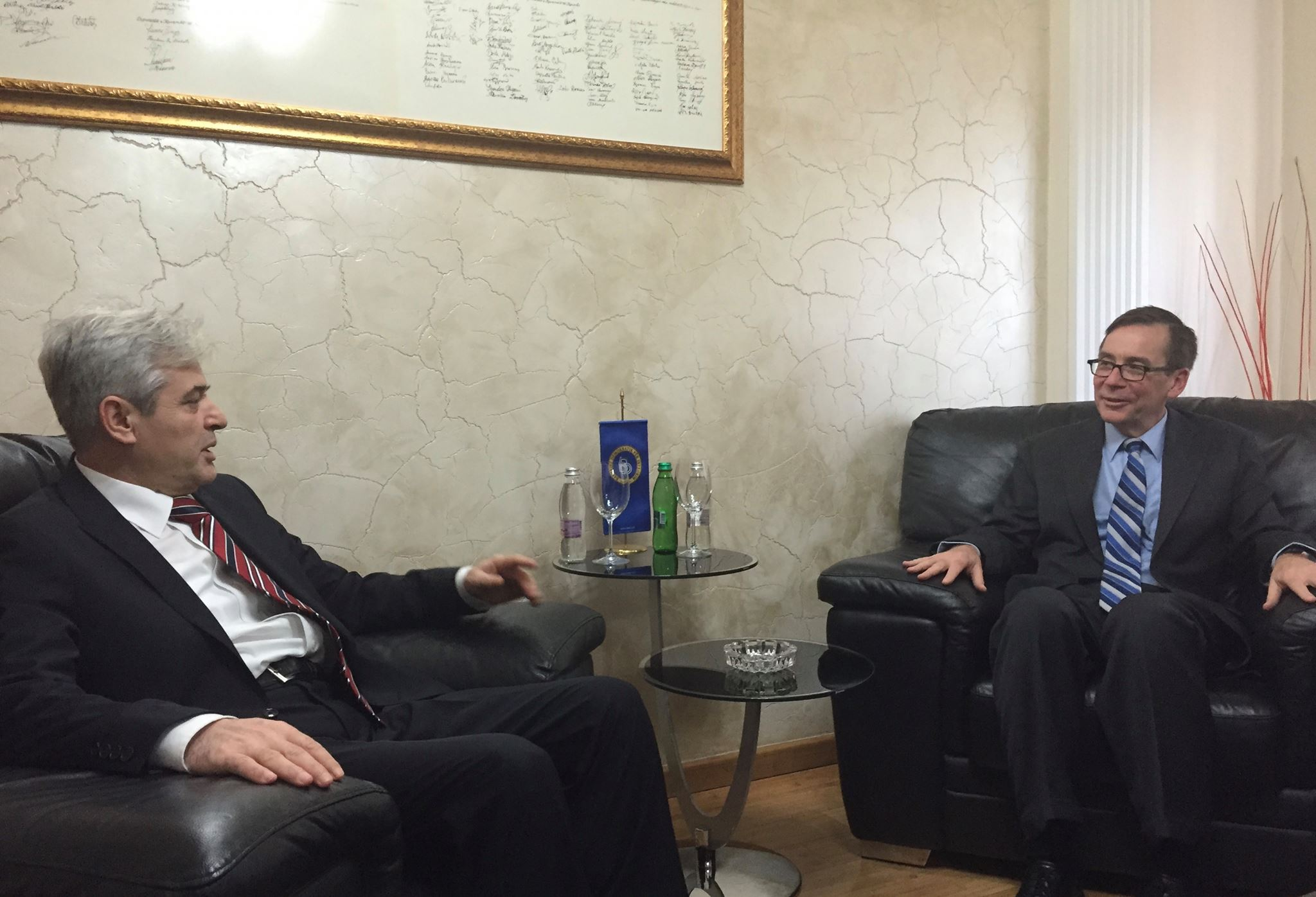 Ahmeti's meeting with Palmer: The NATO membership is an absolute priority