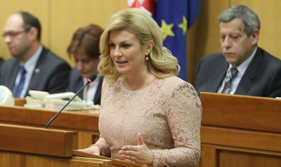 Grabar-Kitarović at the UN Security Council: Misuse of ICTY judgements should be avoided