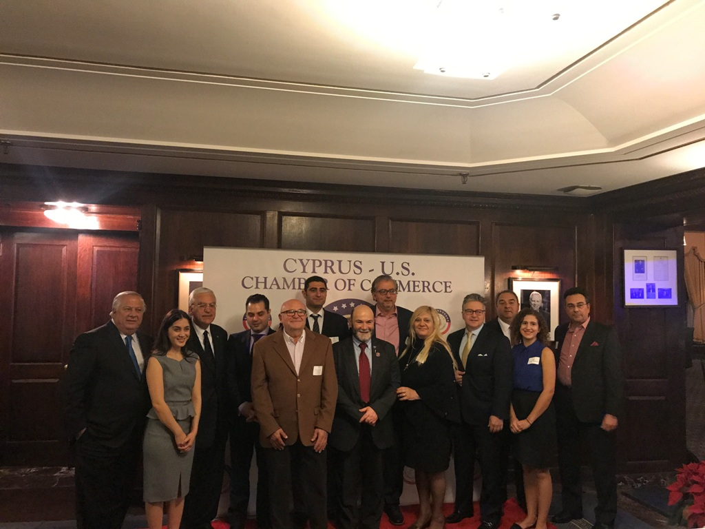 Cyprus-US Chamber of Commerce organized an event on space, in New York