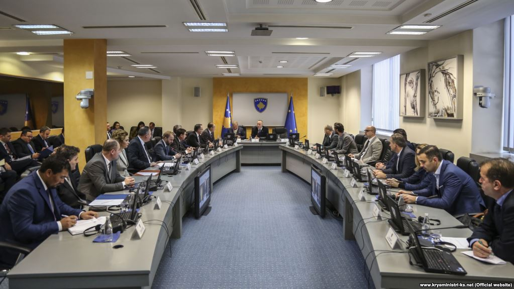 Government of Kosovo with 64 deputy ministers