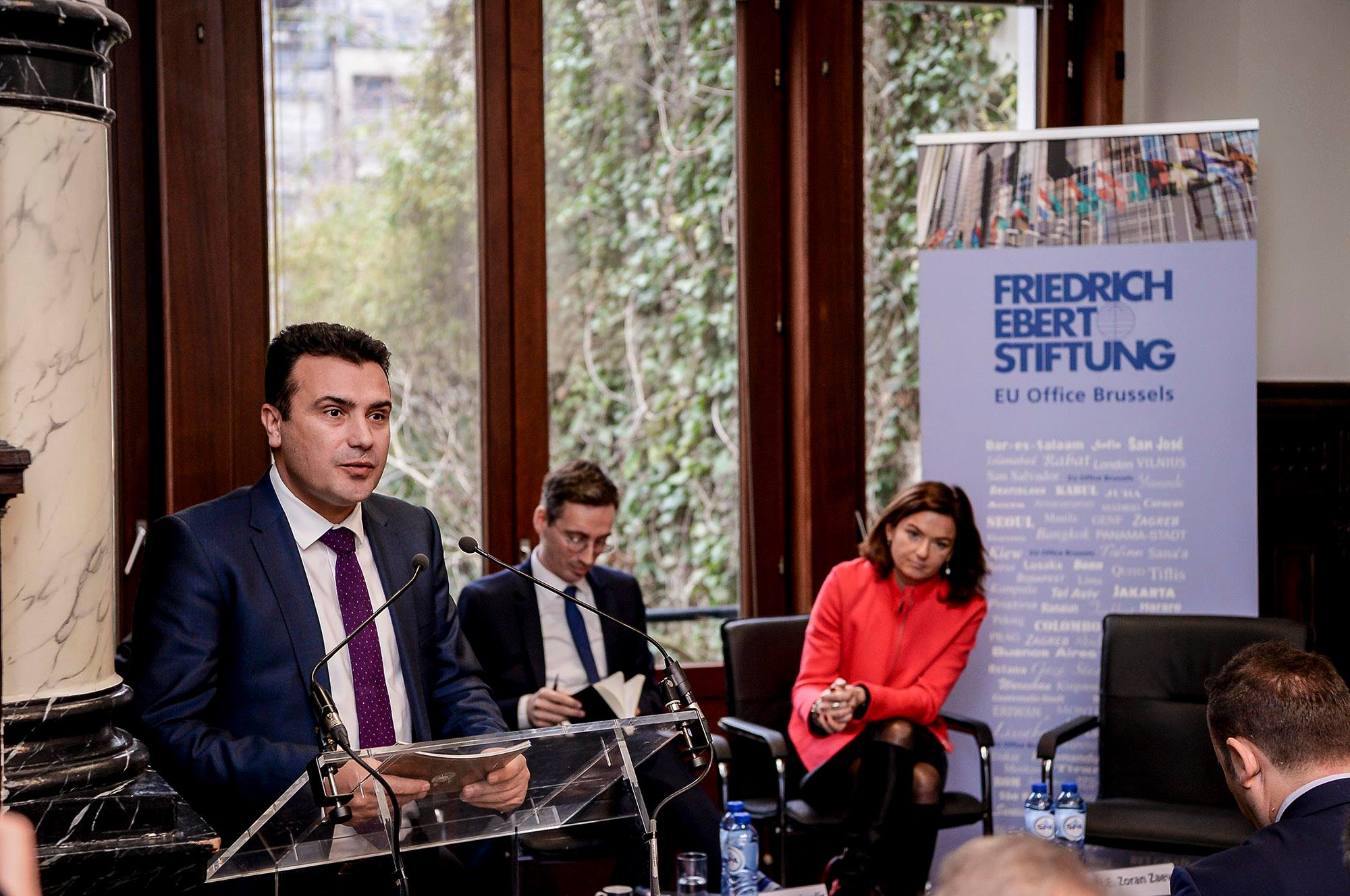 Zaev in Brussels: EU to include us in the new expansion package