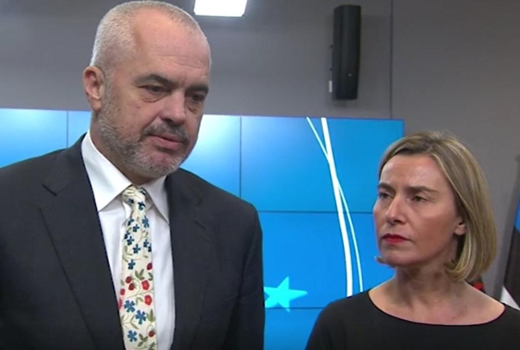 Mogherini praises Albania's fight against drugs and corruption