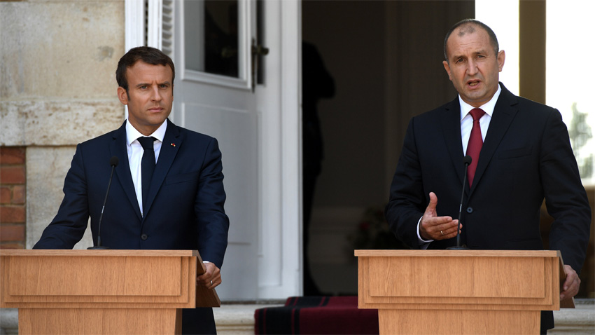 If Bulgaria enters the Schengen visa zone EU's security would be enhanced said Radev in Paris