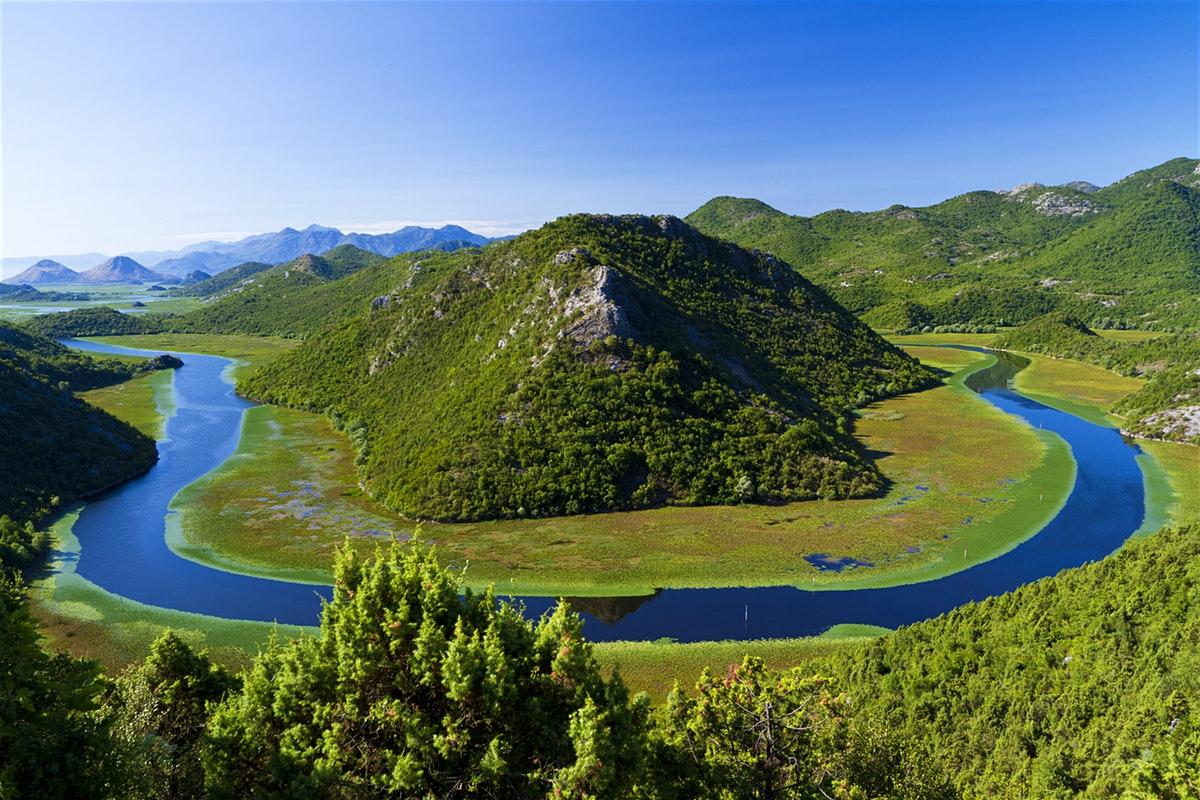 The battered Lake Skadar
