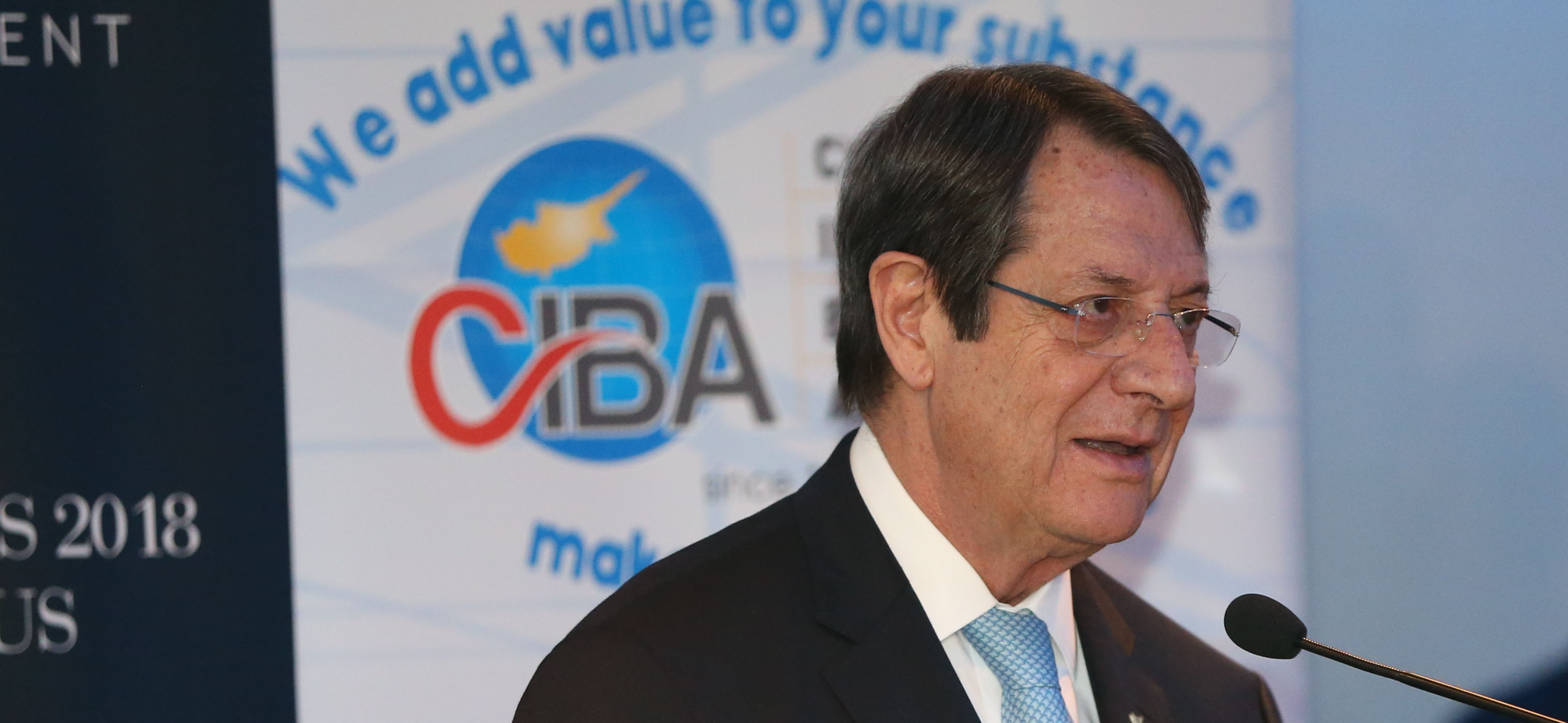President Anastasiades attended the annual General Assembly of the Cyprus International Business Association (CIBA)