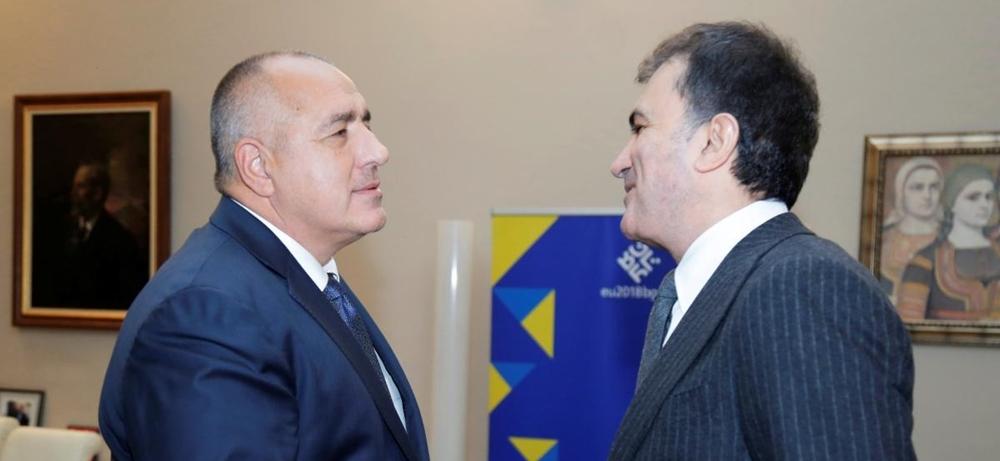 Development of relations with Turkey a priority for Bulgaria, Borissov tells Ankara's EU minister
