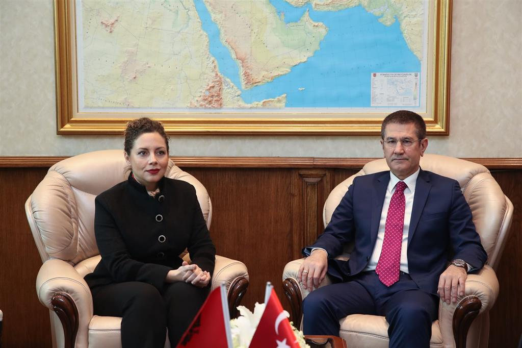 Turkey will continue to support the Albanian army