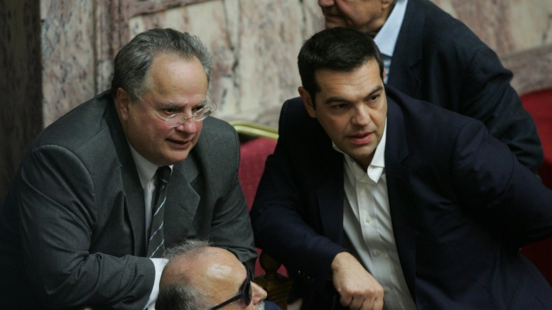Alexis Tsipras to brief the President of the Republic and the political leaders
