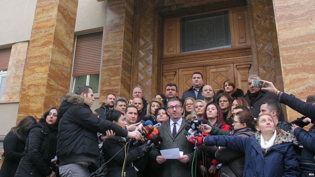 VMRO-DPMNE returns to Parliament to contest the law on languages