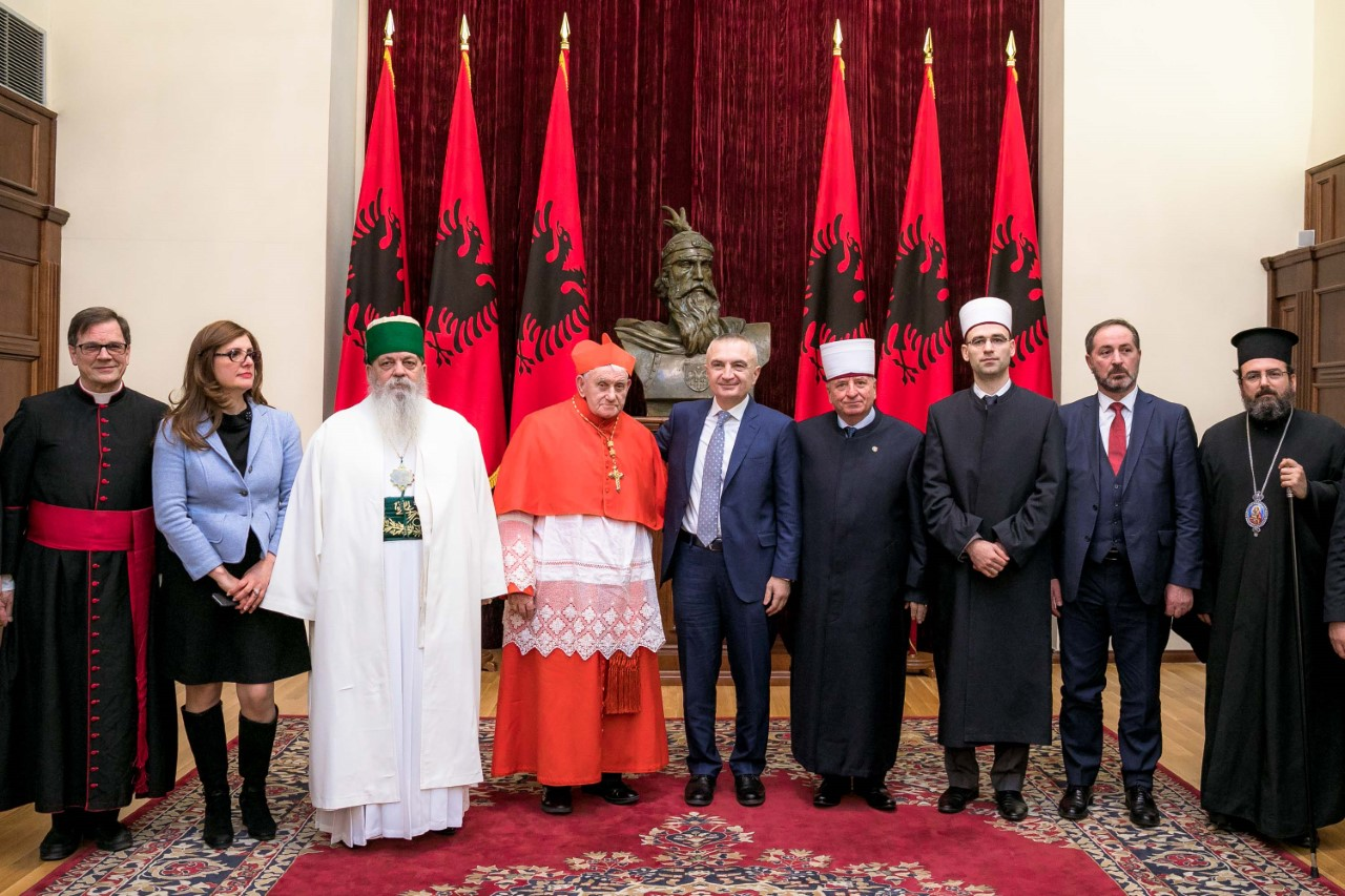 Religious harmony in Albania is an extraordinary asset, president Meta says