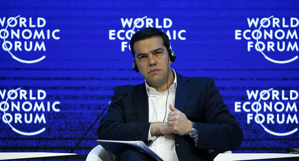 Tsipras in Davos: He confirms the leading role of Greece in the Balkans