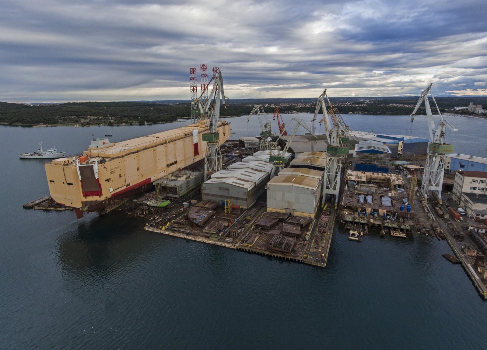 Uljanik shipyard: EC okays Croatian state guarantees for the loan
