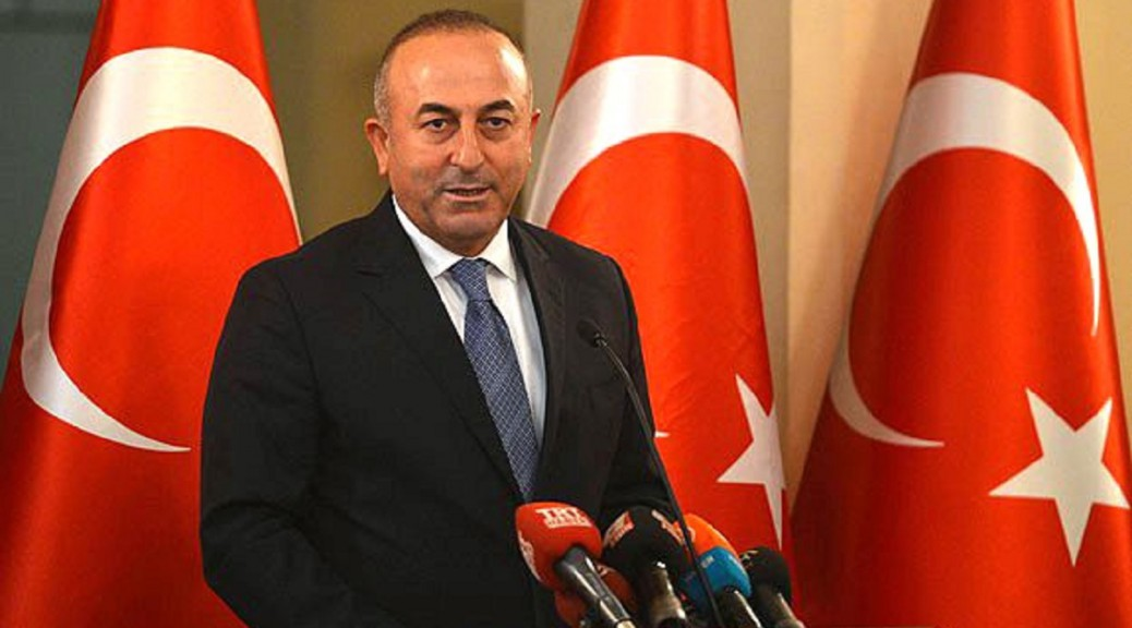 Cavusoglu in Paris for the launch of the International Partnership against chemical weapons