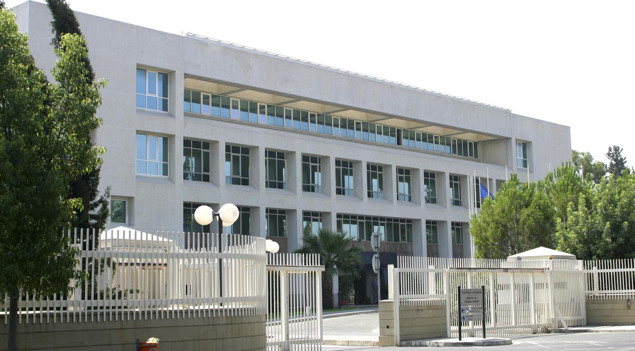 Cyprus' Foreign Ministry condemns the incidents against the Turkish Cypriot 'Afrika' newspaper