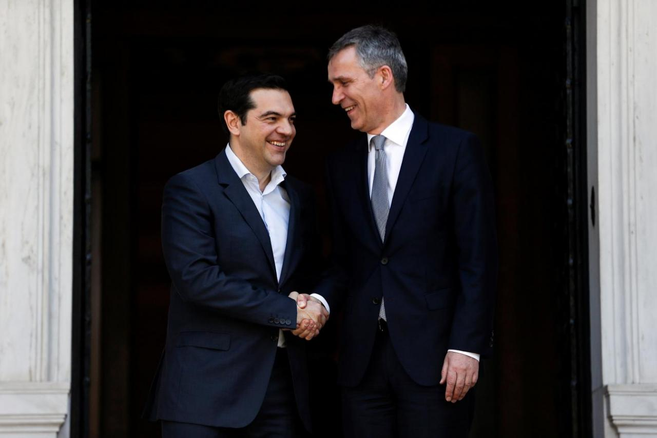 Tsipras-Stoltenberg phone contact – Kotzias-Bushati meeting in Korçë