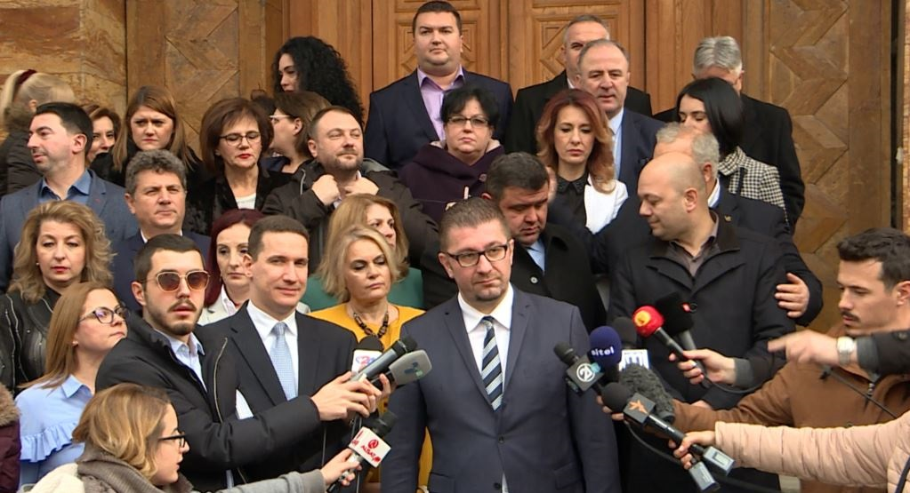 VMRO-DPMNE will continue its parliamentary boycott