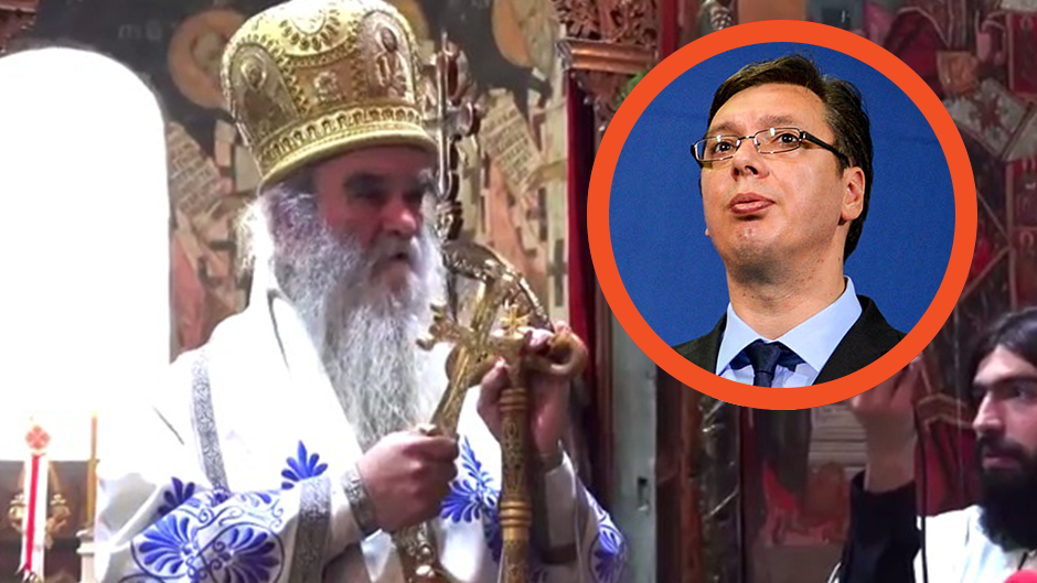 Vucic offended and touched by Church's dignitaries' claims and comments