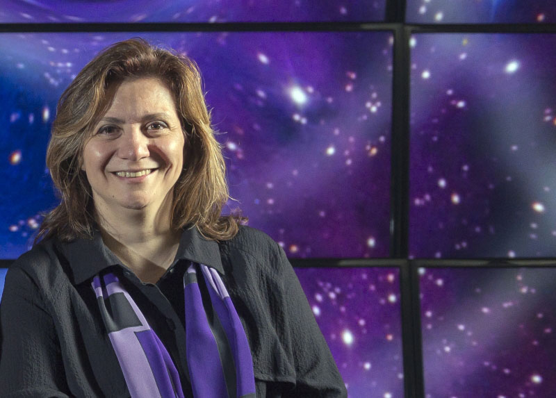 Vicky Kalogera, winner of the 2018 Dannie Heineman Prize for Astrophysics