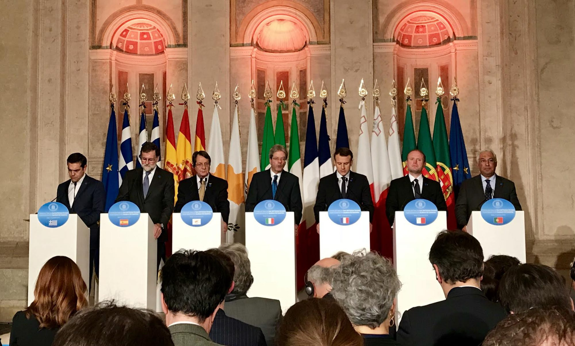 "Declaration of 4th Summit of South EU states: ""Bringing the EU forward in 2018"""
