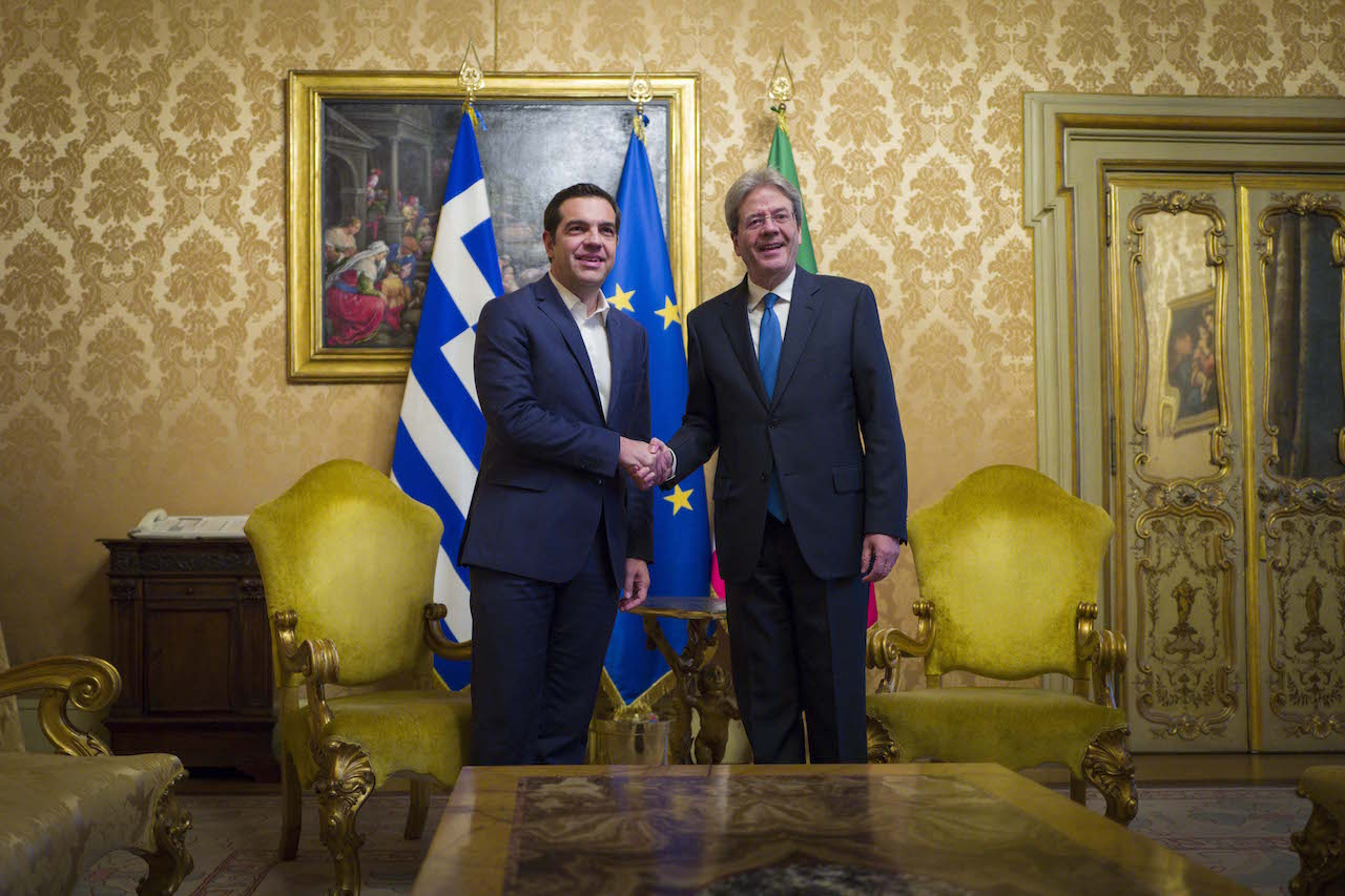 Tsipras-Gentiloni: The meeting & bilateral ties that gain momentum